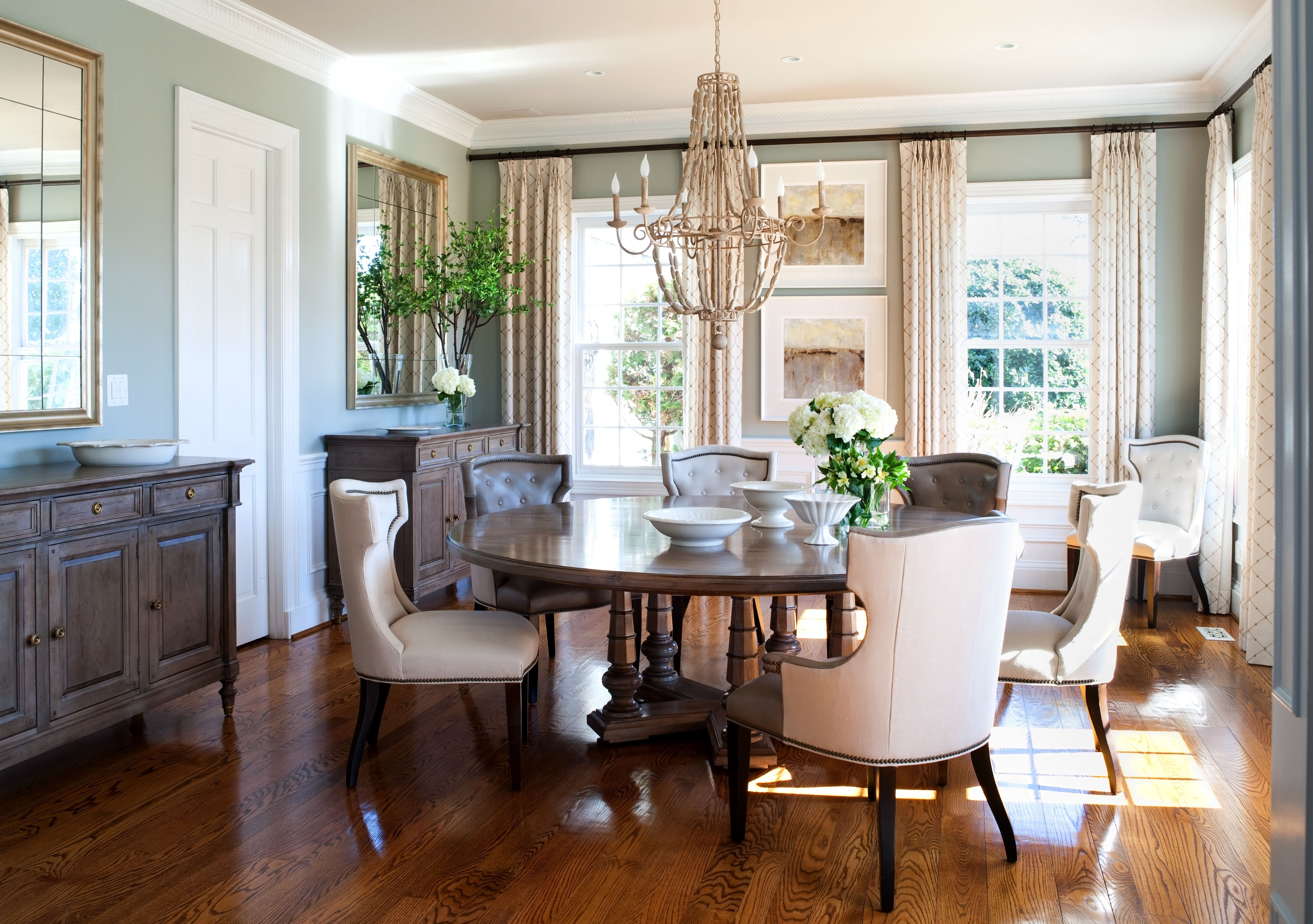 Www.kristinpeakeinteriors.com Dining Room We Just Installed Interior In  Potomac, Maryland