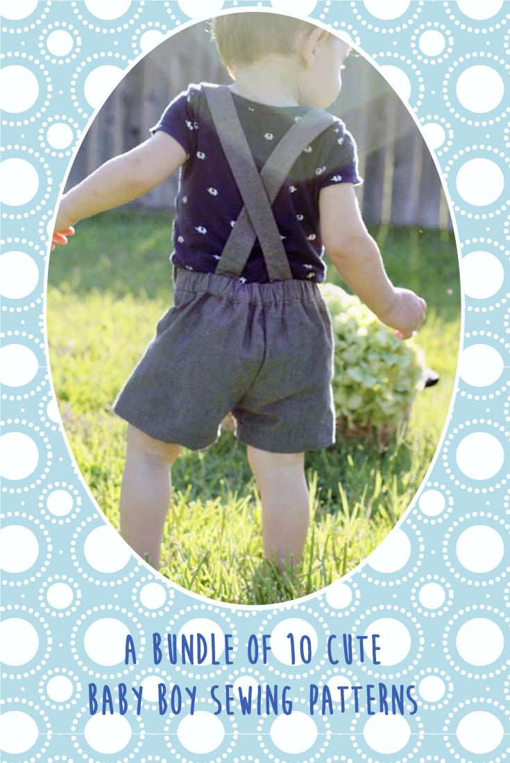 You don\'t often see a lot of sewing patterns for boys, so this ...