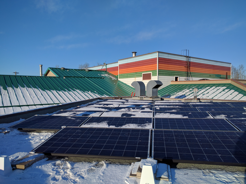 Solar Panel Installation Amisk Community School Beaver Lake First Nation Alberta Canada In 2020 Solar Solar Heating Solar Power Source
