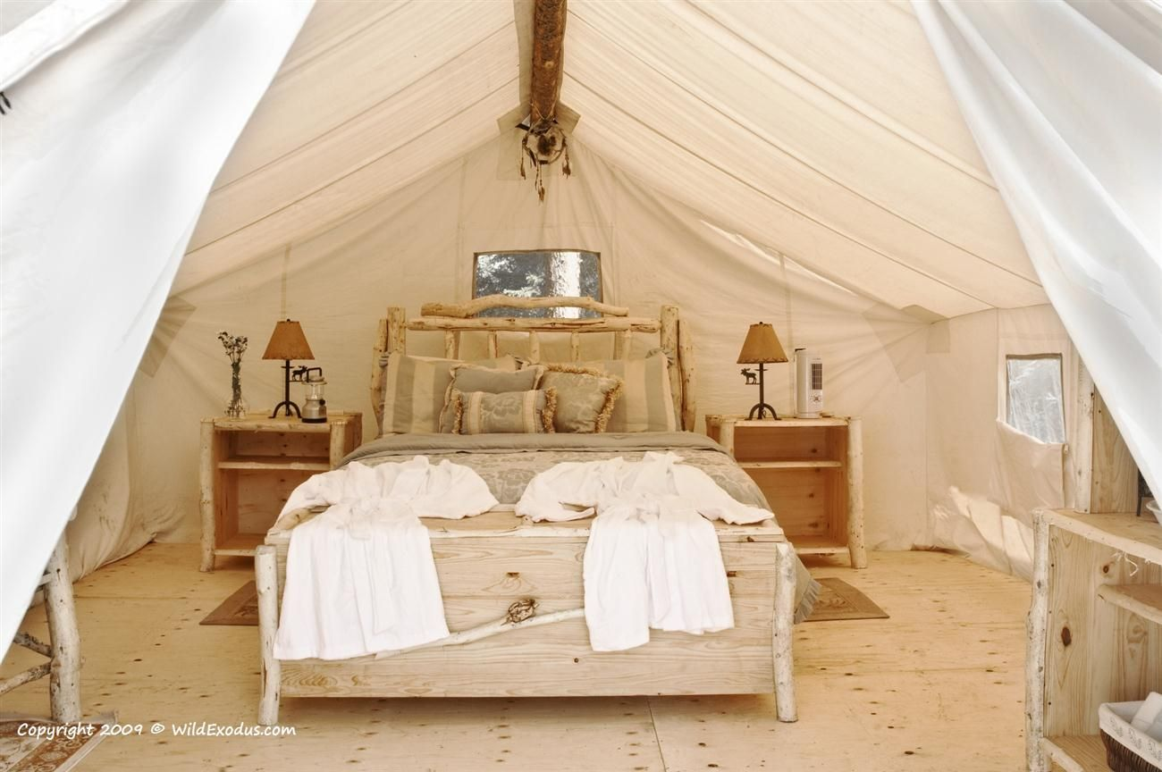 Luxury Prospectors Tents in the Boreal Forest & Luxury Prospectors Tents in the Boreal Forest | Tents Luxury ...
