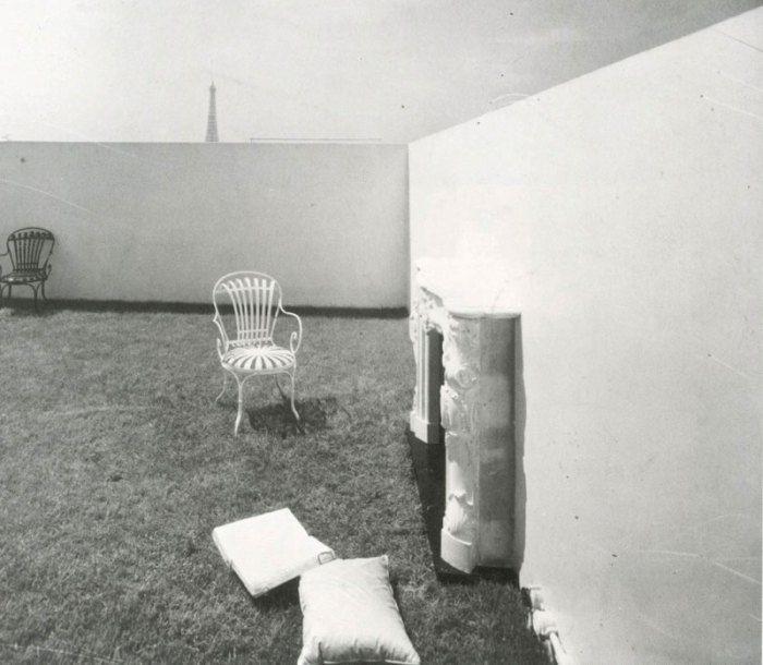 ático diseñado por Le Corbusier   Le corbusier, Torre eiffel, Disenos de  unas