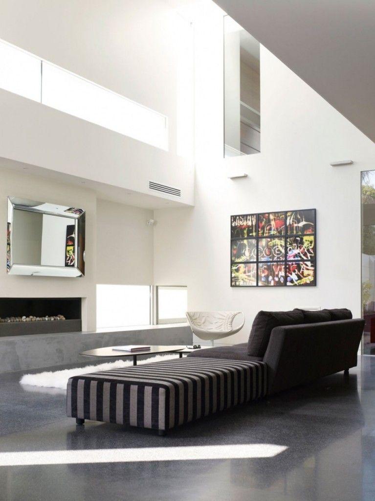 Wohnzimmer, Wohnen, Wohnräume, Dachboden, Für Zu Hause, Straßen, Moderne  Inneneinrichtung, Weiße Inneneinrichtung, Melbourne Australien