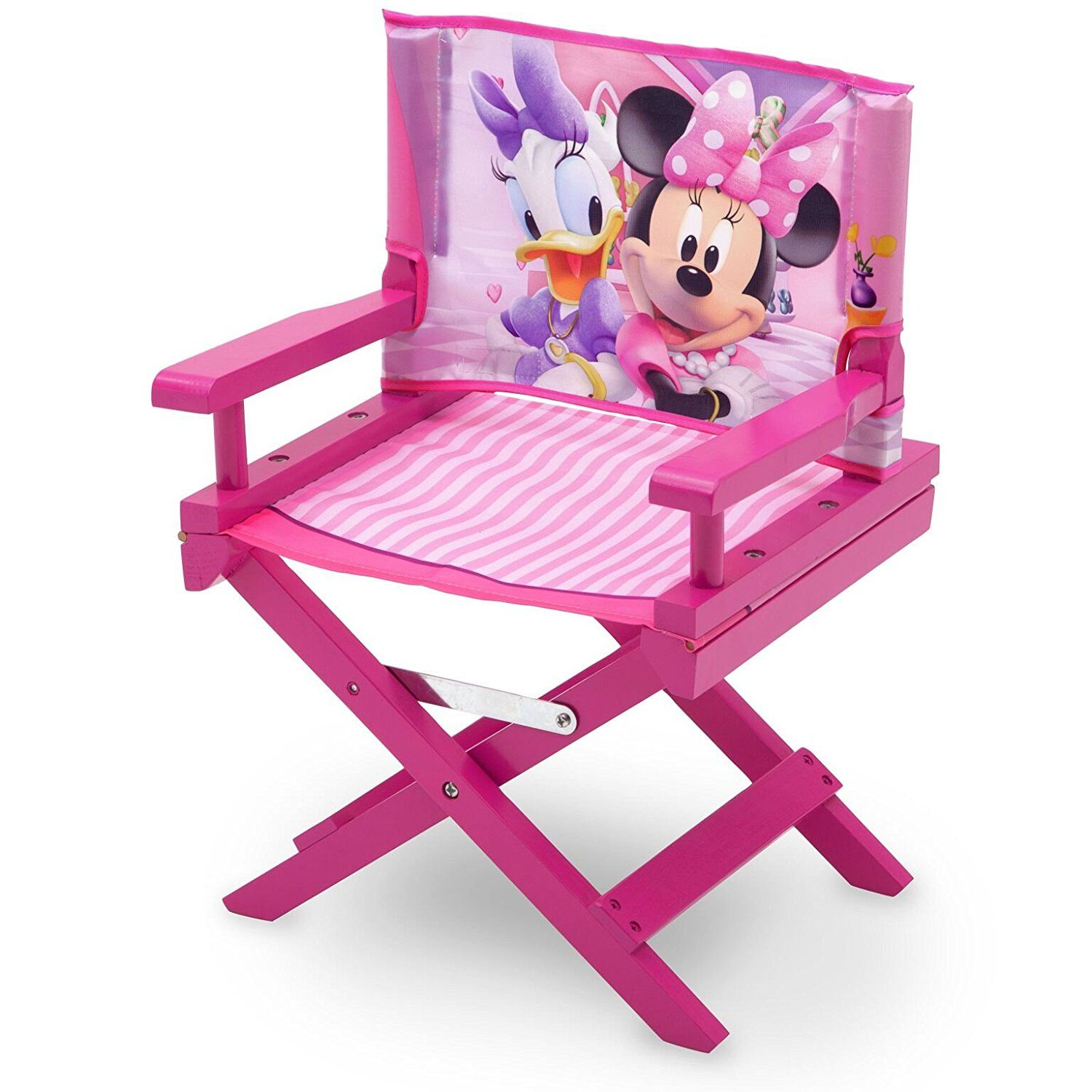 faltstuhl f r kinder direktorstuhl minnie mouse camping stuhl ein tolles highlight im. Black Bedroom Furniture Sets. Home Design Ideas