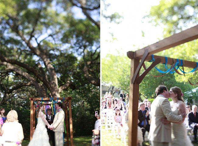 Beer Garden Wedding