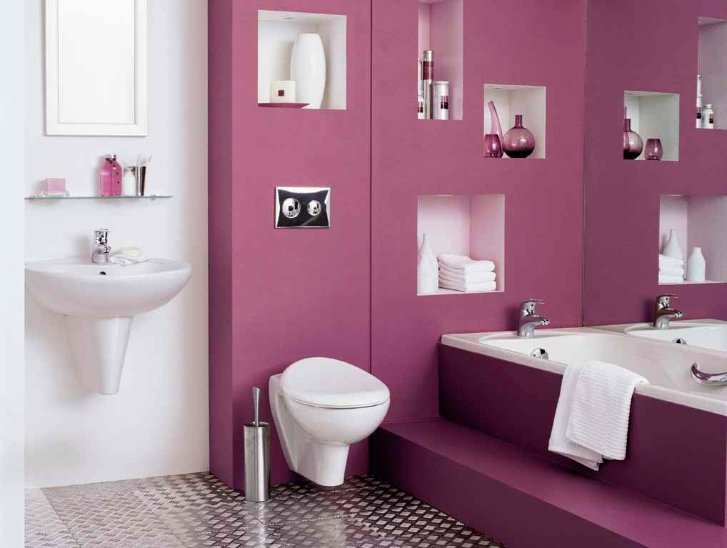Bathroom Shelf Decorating Ideas Pinterdor Pinterest Bathroom - Purple bathroom decor for small bathroom ideas