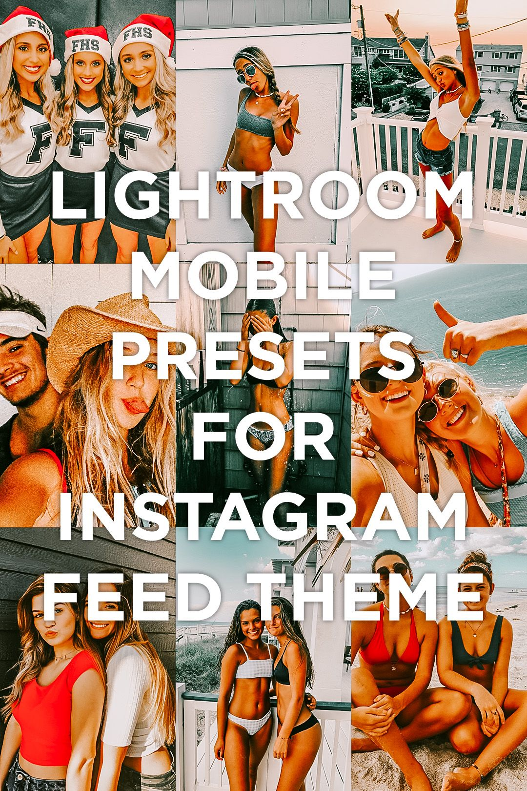 7 Mobile Lightroom Presets Bondi Instagram creative