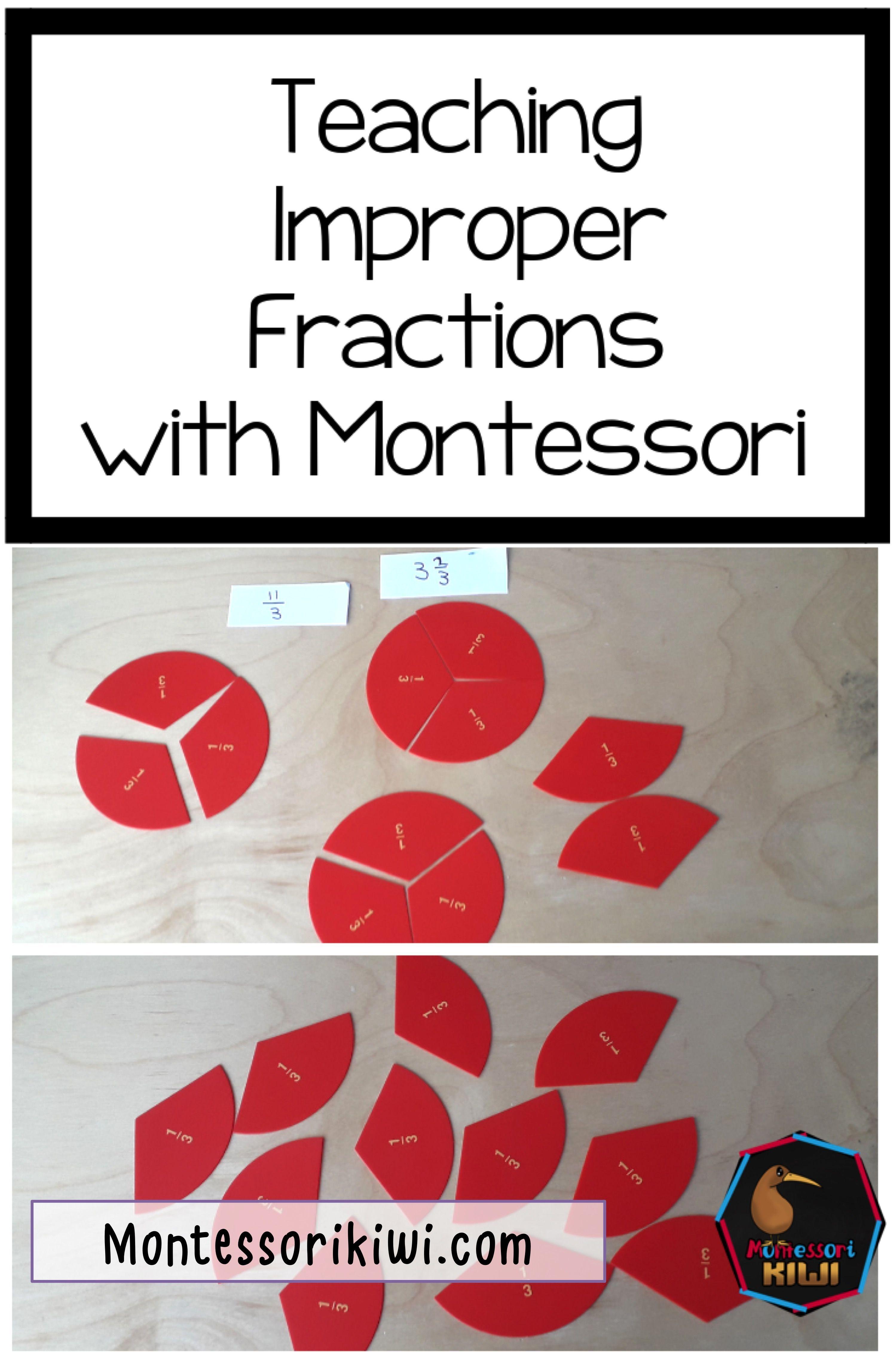 Teaching Improper Fractions