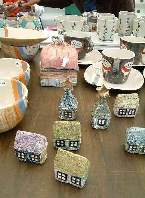 at Mashiko Pottery Fair