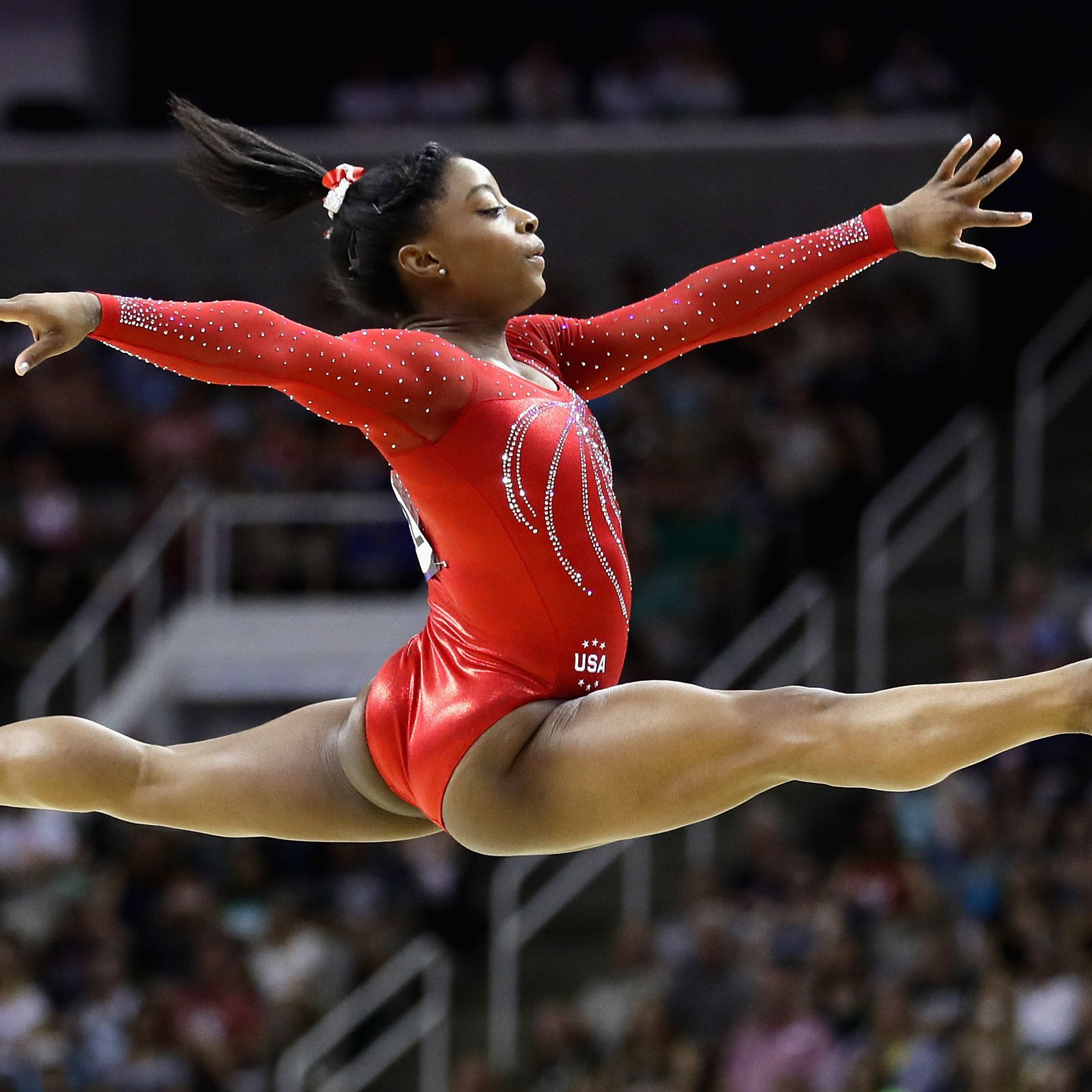 What Makes Simone Biles Unlike Any Other Gymnast In The