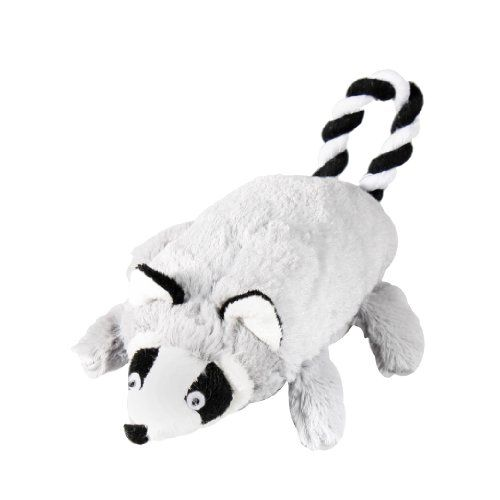 Krislin Plush Raccoon With Rope Tail Toy For Dogs Visit The