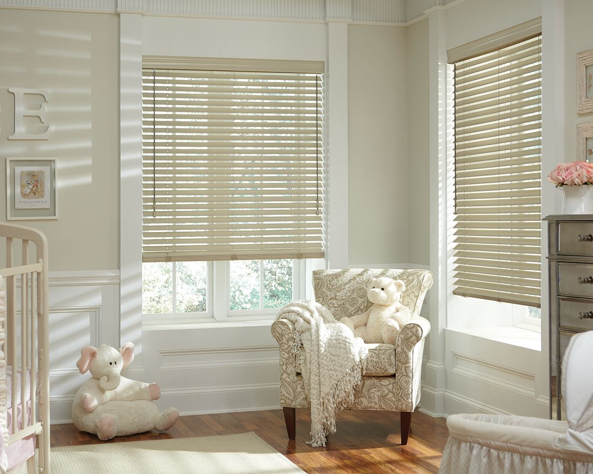 Room · Hunter Douglas Parkland Classic Blinds In Nursery