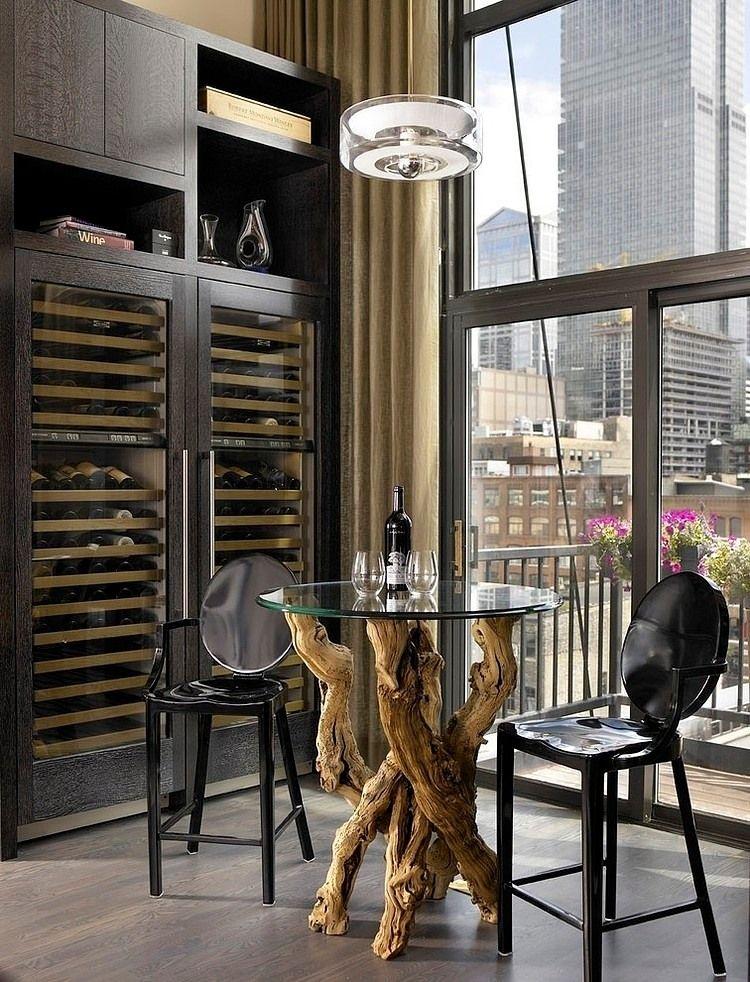 Private Loft Residence By Jamesthomas Llc Home Wine Cellars