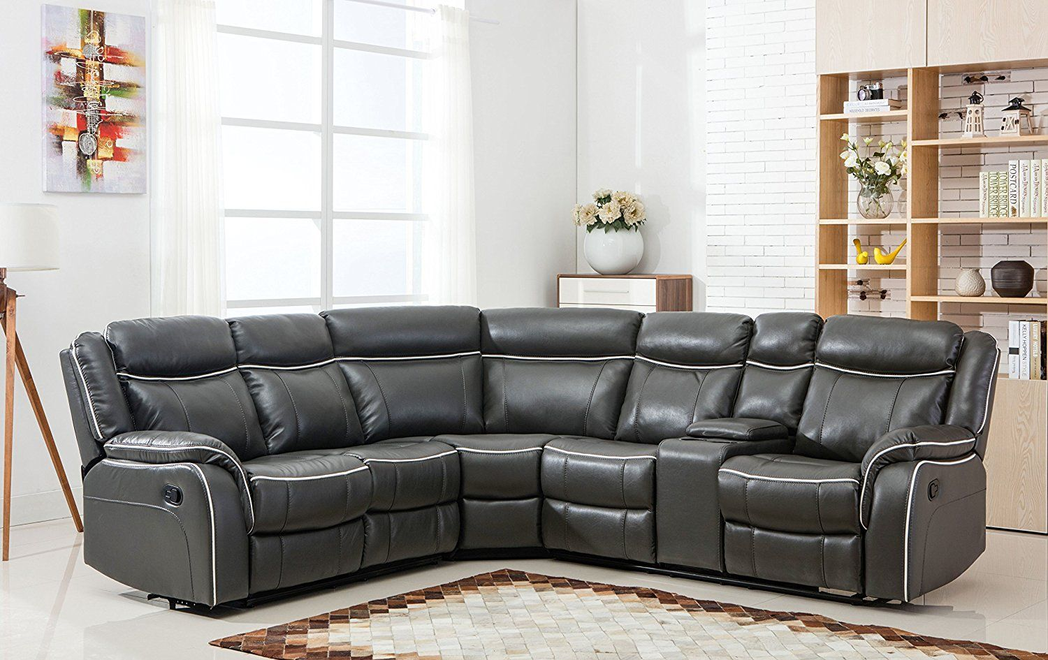 20 Awesome Curved Leather Sectional Sofa The Urban Interior Corner Sectional Sofa Reclining Sectional Grey Sectional Sofa