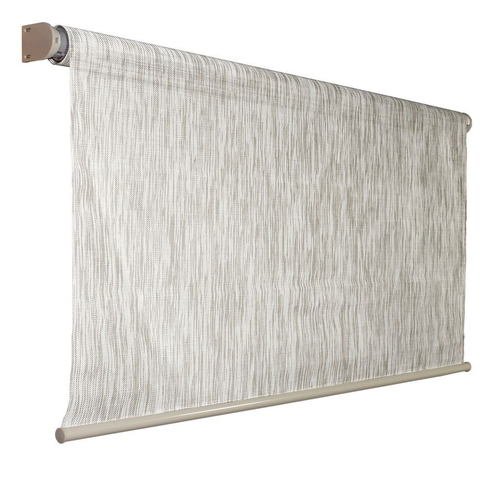 96 Inch X 72 Inch Coolaroo Birch Exterior Roller Shade 92 Uv Block For The Home Landscaping In 2019 Roller Shades Pergola Patio Outdoor Shade
