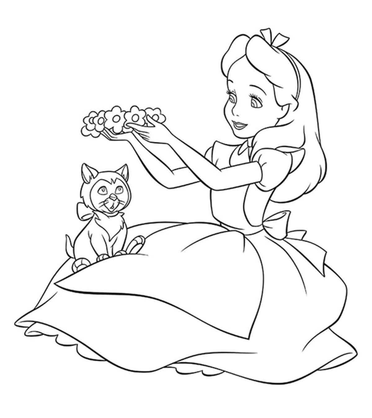 Disney Coloring Sheets With Images