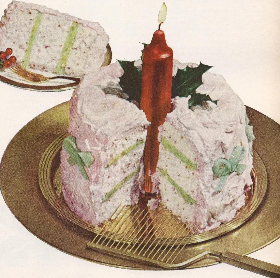 Christmas Dessert Recipes | Vintage Christmas Dessert Recipes a | Antique Alter Ego