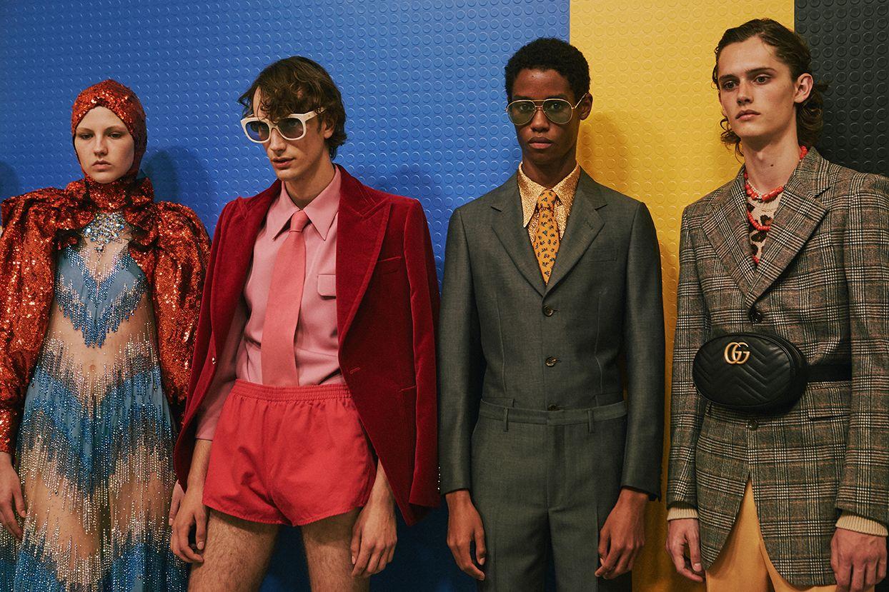 0aaa7712f In Show: Spring Summer 2018 | gucci | Fashion, Gucci fashion ...