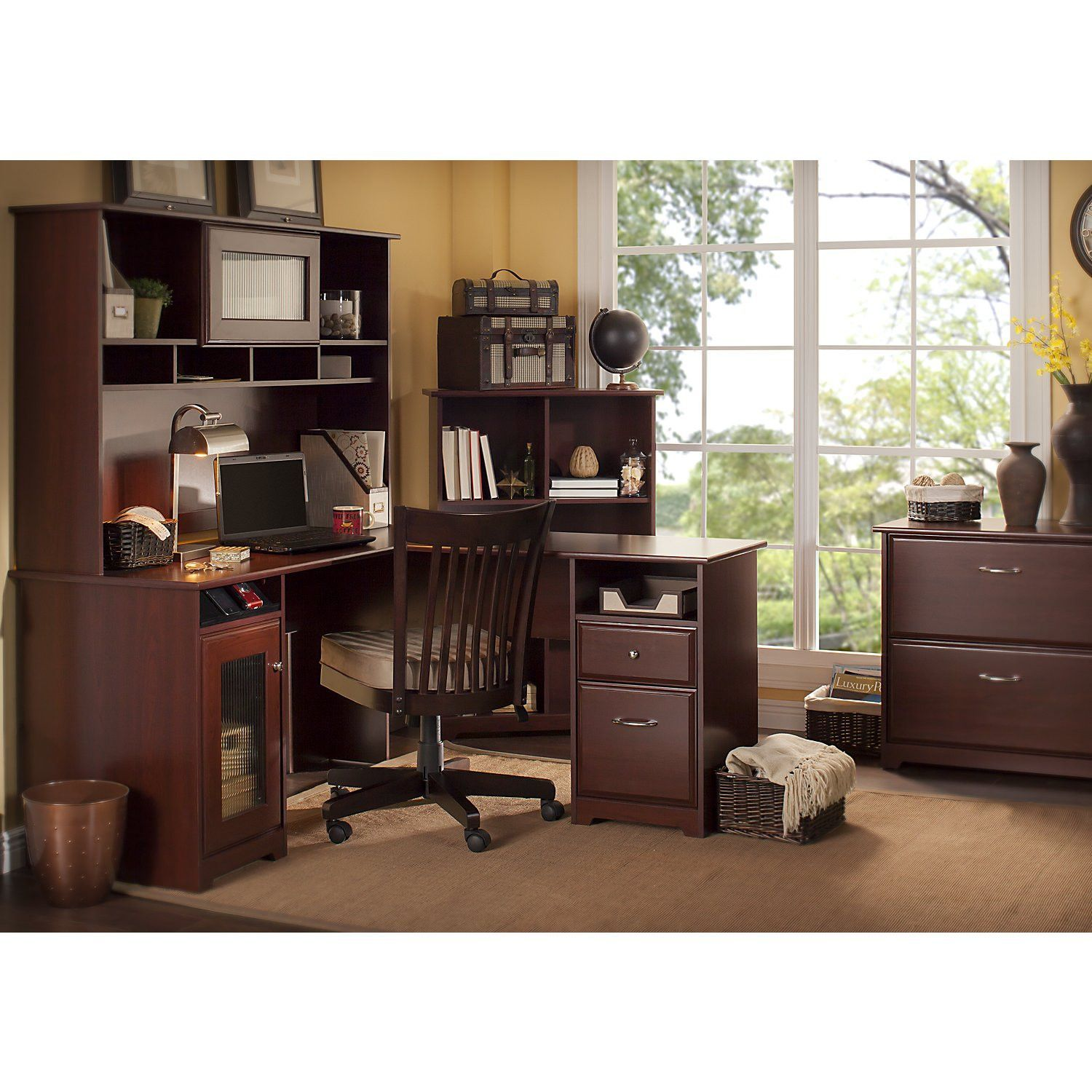 shaped house of with office l about desk design all image hutch home cool