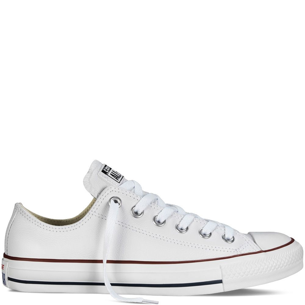 250d644d7 Chuck Taylor All Star en piel White white