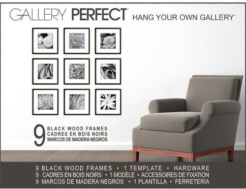 NielsenBainbridge 9 Piece Wood Picture Frame Set