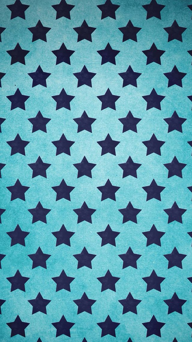 Star pattern background iPhone 5s Wallpaper