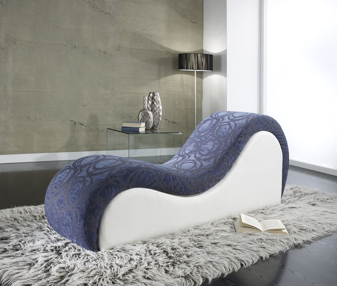 Tantra Sofa Chair Venus Chaise In Blue At Tantra Designs | Fotelek Chairs