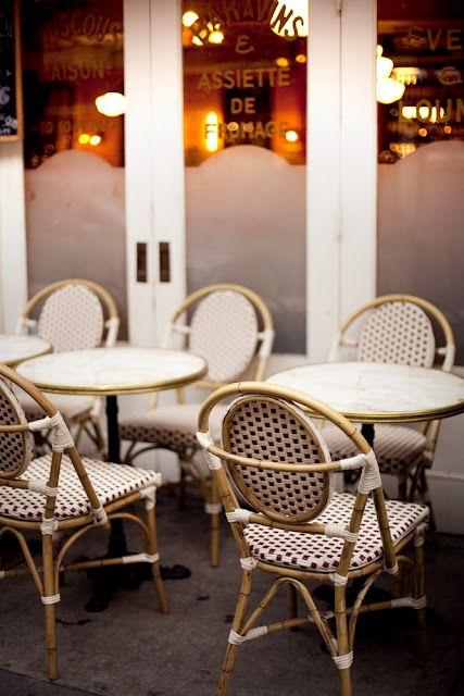 French Cafe Decor Bistro Chairs, French Cafe Outdoor Furniture