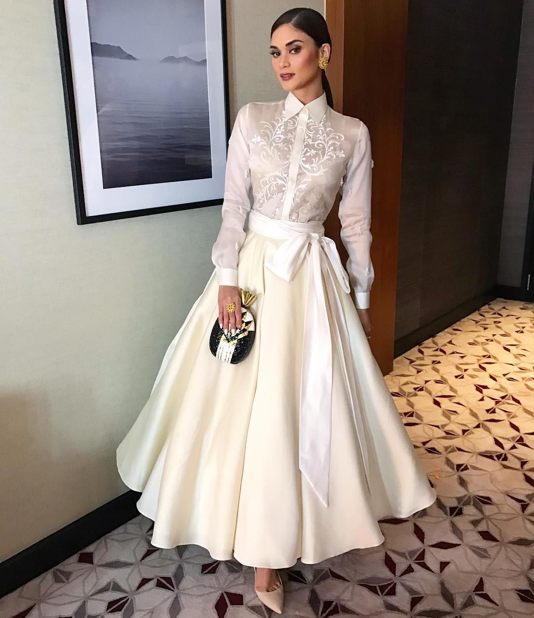 Filipiniana Wedding Gown: Pin By Clairvoyance Co On Grad Dress In 2019