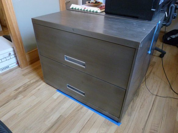 Modern Brushed Steel 2-Drawer Lateral File Cabinet (not avail, but ...
