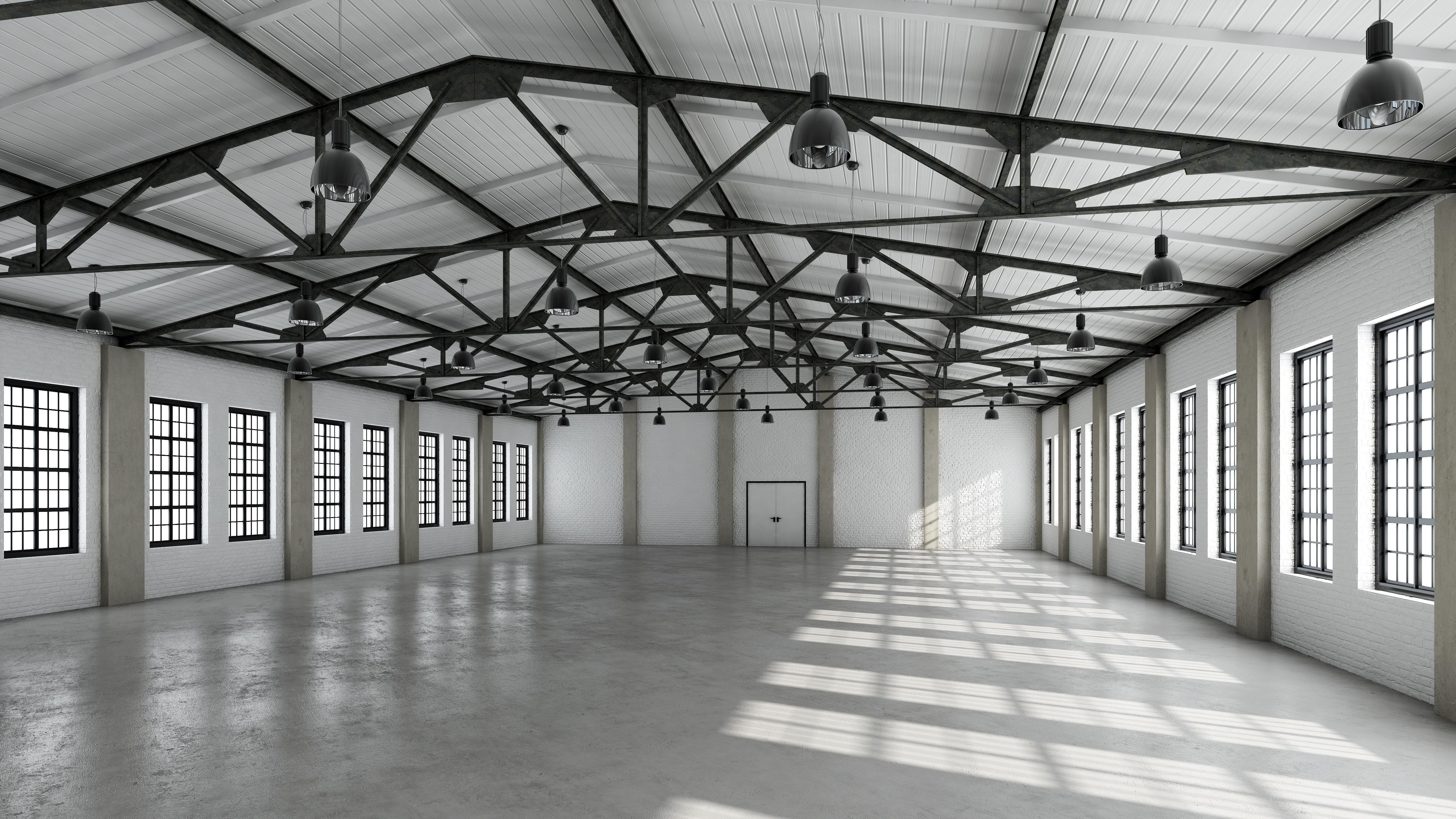 warehouse lighting as all commercial