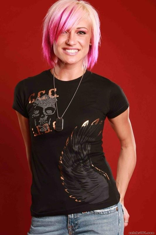 Jess From Rock Of Love Hairstyle  Posted By Jes Rickleff -8093