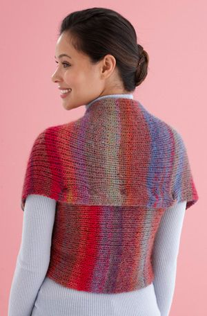 Free Knitting Pattern L20315 Snapped Convertible Cowlshrug Lion