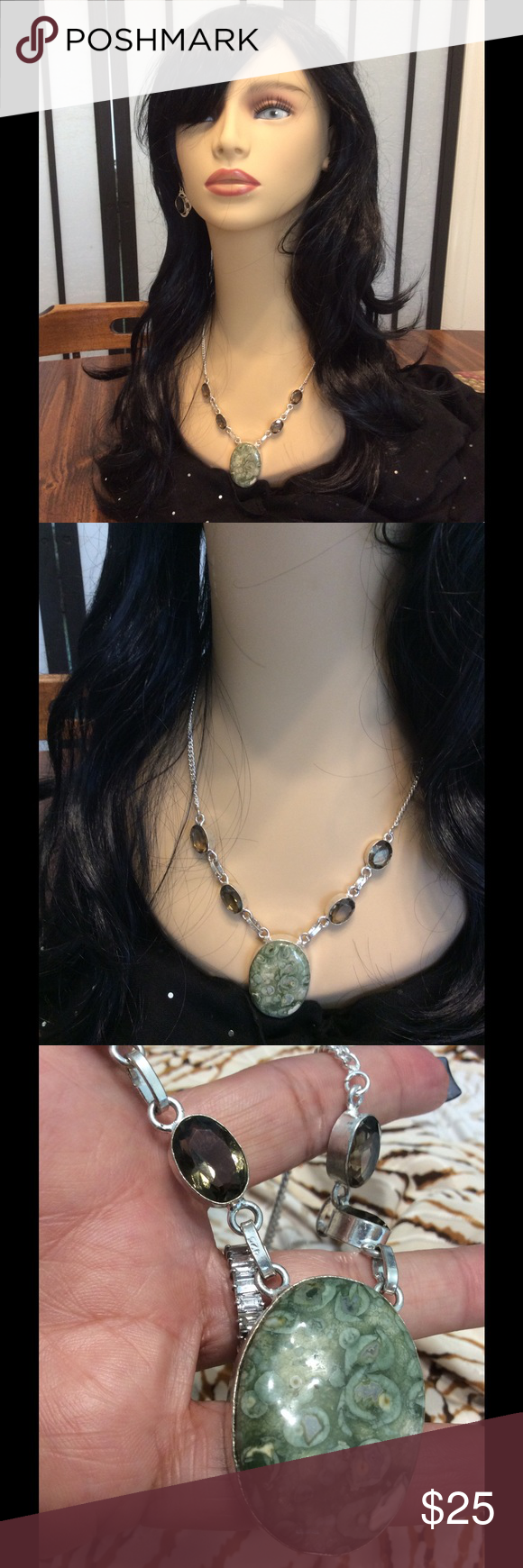 Green Urakite Peridot Sunshine in SS with