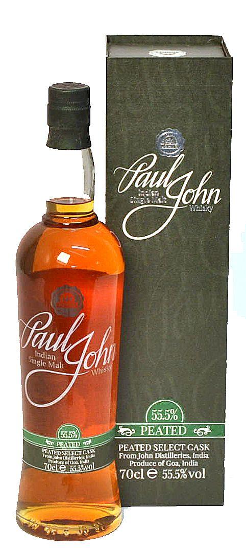 Paul John Indian Single Malt- PEATED Select Cask -55.5%