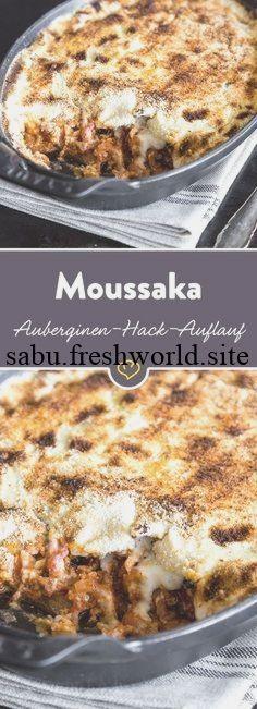 Moussaka: Für die einen ist es Auberginen-Hack-Auflauf, für die anderen 'Lasagne auf Griechis... Moussaka: Für die einen ist es Auberginen-Hack-Auflauf, für die anderen 'Lasagne auf Griechisch',