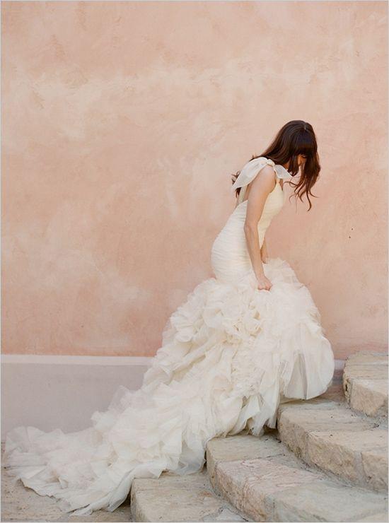 Fancy Kirstie Kelly wedding dress