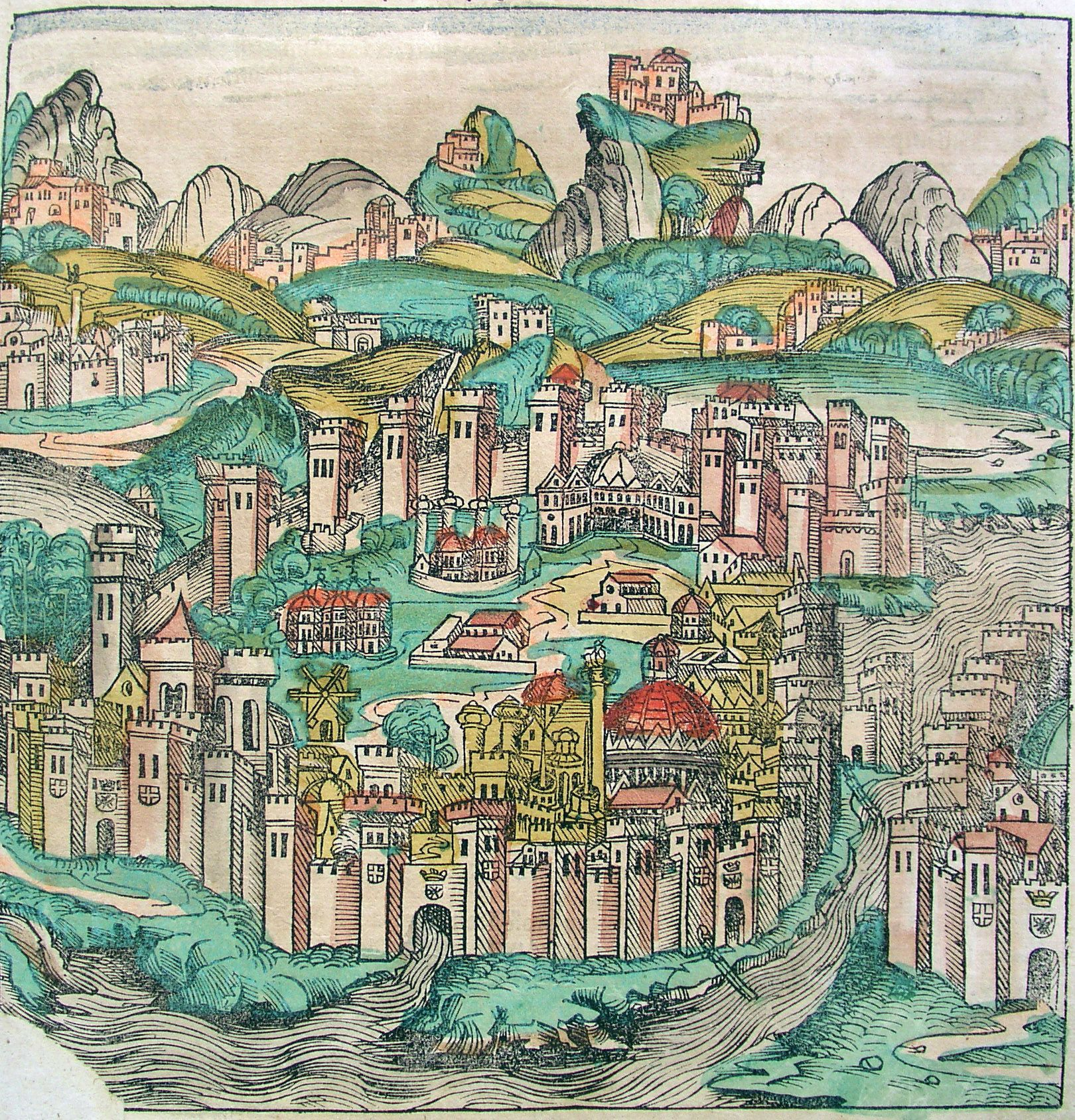Constantinople In The Nuremberg Chronicle