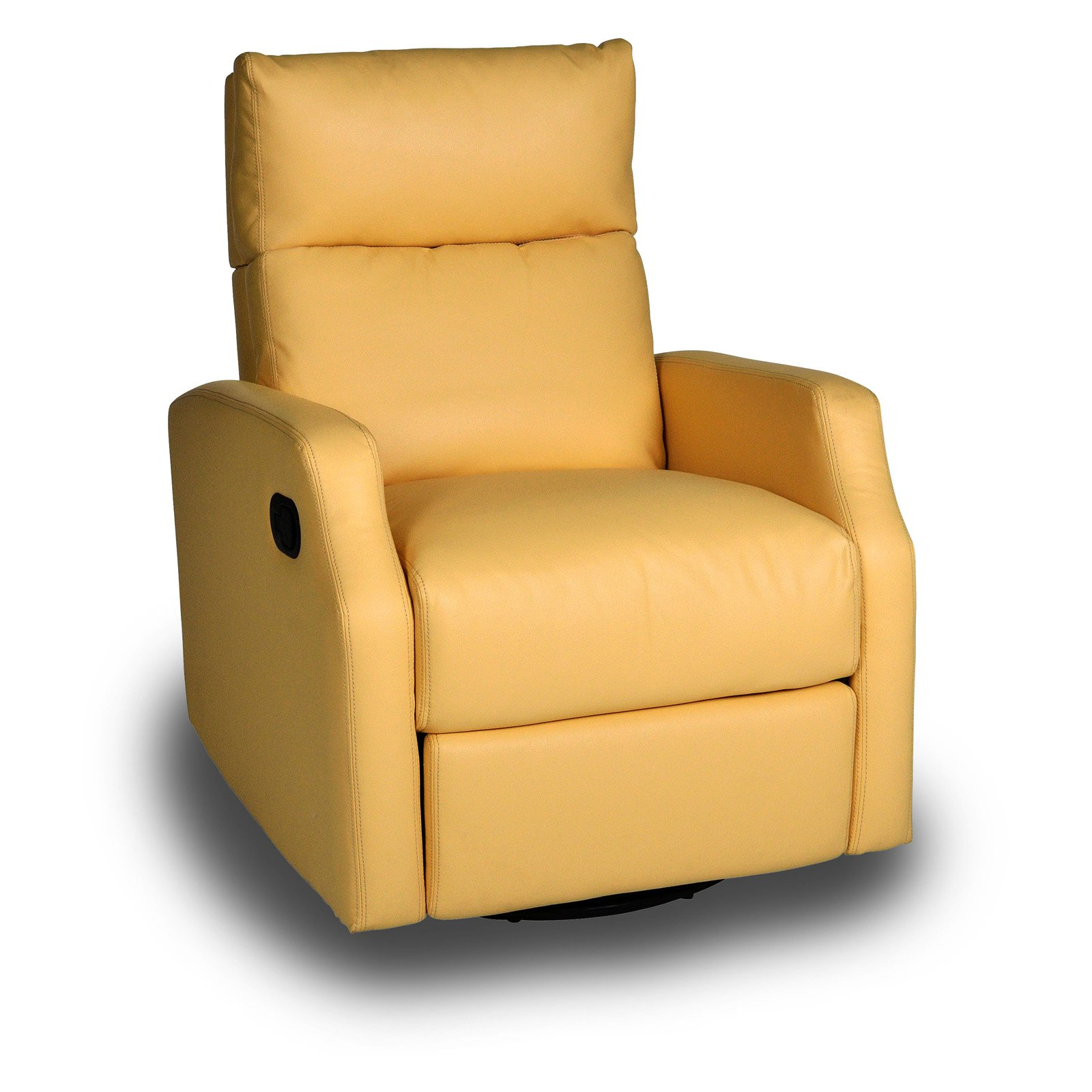 Peachy Opulence Home Sidney Swivel Glider Recliner Bedford Yellow Customarchery Wood Chair Design Ideas Customarcherynet