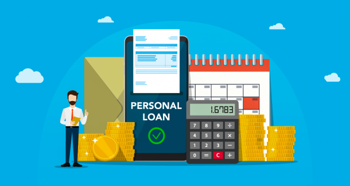 How Emi Is Calculated For A Personal Loan In 2020 Personal Loans Loan Financial Management
