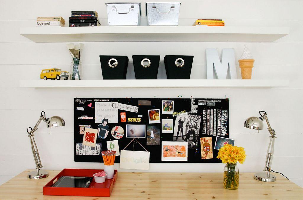 Ab Chao Kids Workspace Home Ikea Lack Shelves
