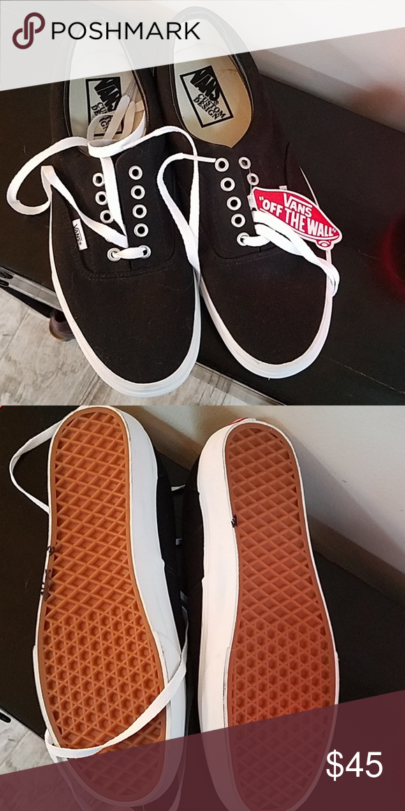 fee3a5d2c47f   1 hour sale   Vans sneakers New with tags. Size 10 Vans Shoes Sneakers