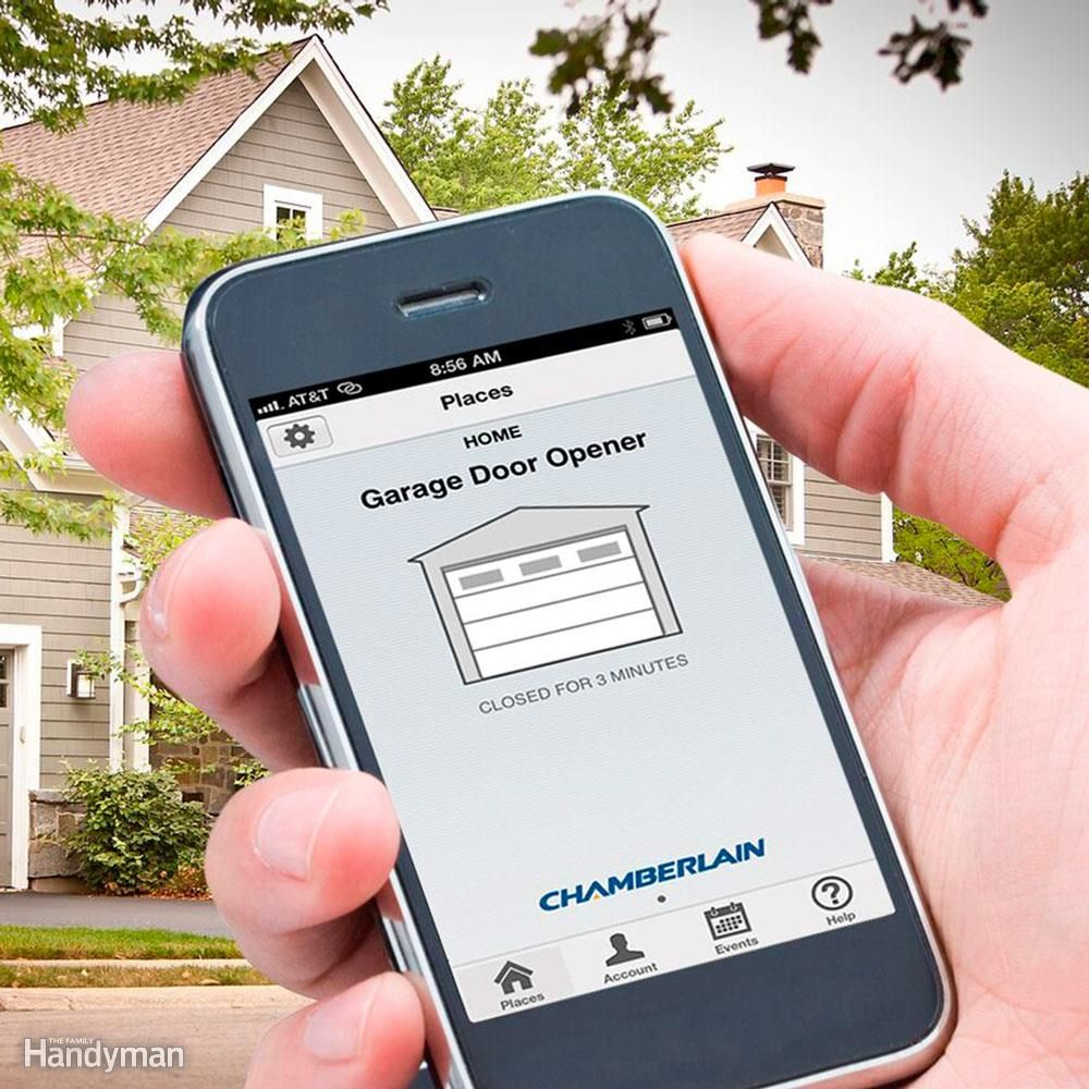 Add a garage to my house - 6 Easy Home Tech Add Ons Chamberlain Garage Door Openerhouse Keysmy