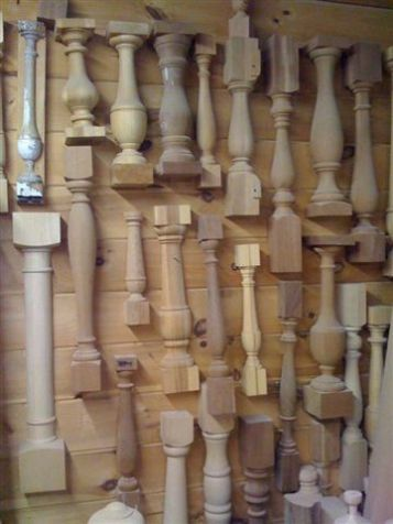 Best Custom Wood Balusters Wood Balusters Wooden Lamps 640 x 480