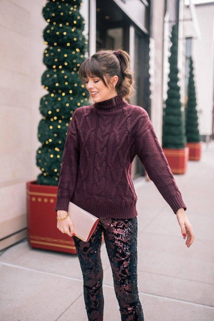 Two NYE Outfit Ideas To Ring In The New Year In Sparkles