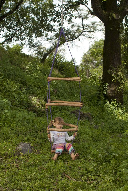 DIY Tutorial Wooden Monkey Bars, climber play structures waldorf inspired on Etsy, $15.00