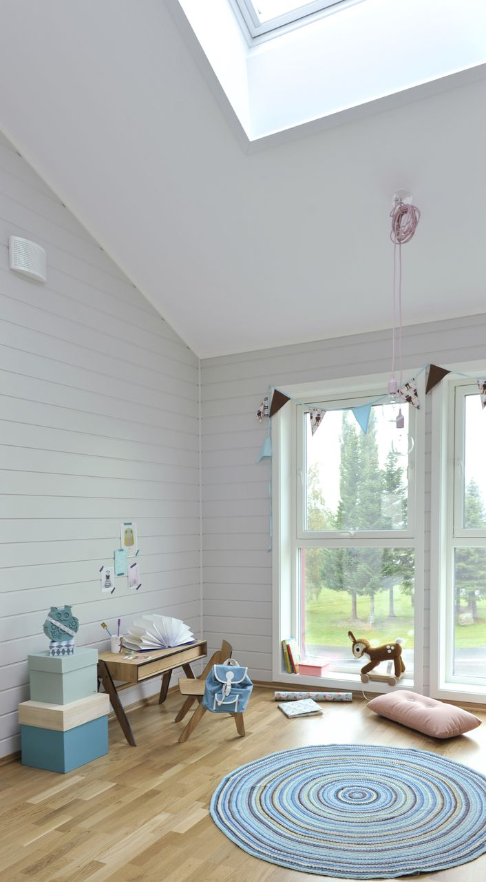 scandinavian style home extension with roof window how to