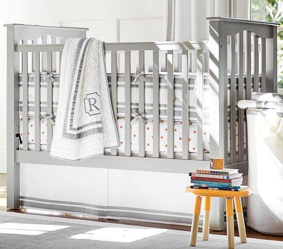 Best Kendall Convertible Crib Pottery Barn Baby Cribs Grey Crib 400 x 300