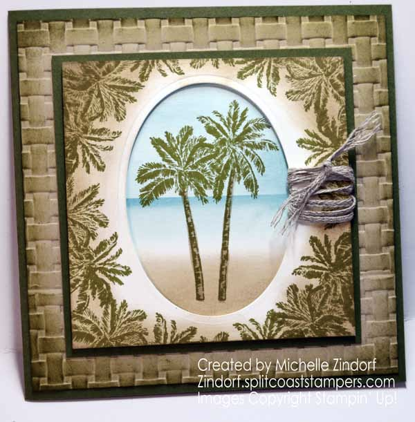 Timeless Tropical – Stampin' Up! Card