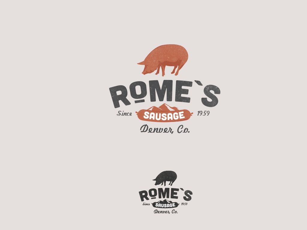 Help us conquer the world through Sausage Domination! Logo design #55 by paul.
