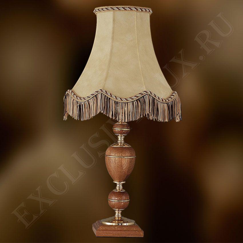 купить настольную лампу с абажуром